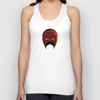 daredevil Tank Tops featuring The Cowl: Daredevil by AWOwens