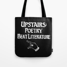 Poetry and Beat Generation Literature Tote Bag