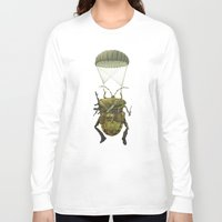 military Long Sleeve T-shirts featuring Military by Tanya_tk