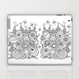 Dragonfly doodle Laptop & iPad Skin