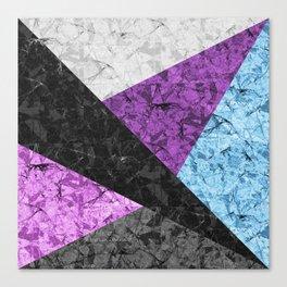 Marble Geometric Background G437 Canvas Print