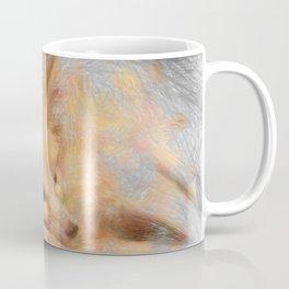 Artistic Animal Fennec Fox Coffee Mug