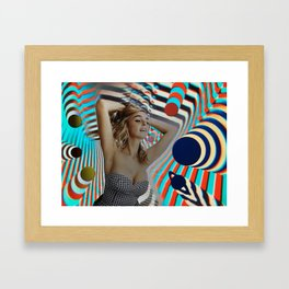 Another Girl, Another Planet Framed Art Print