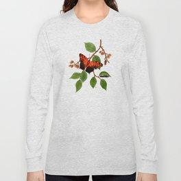 Questionmark Butterfly Long Sleeve T-shirt