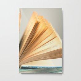Flipping Metal Print