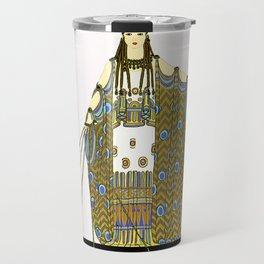 "Art Deco Design ""Hera"" Travel Mug"