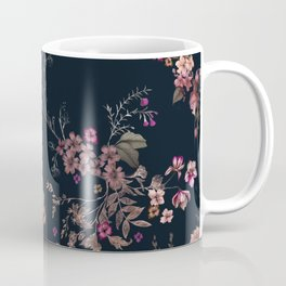 Japanese Boho Floral Coffee Mug
