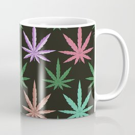 Marijuana Muted Colors Coffee Mug
