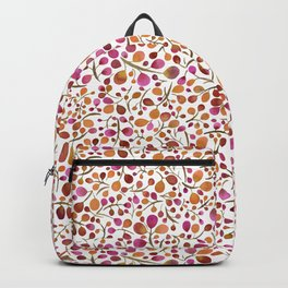 Tangle of Leaves - Autumn Berries Backpack