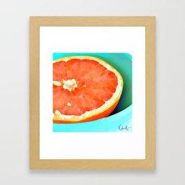Grapefast Framed Art Print