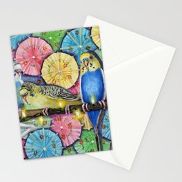 Parakeet Theater Stationery Cards
