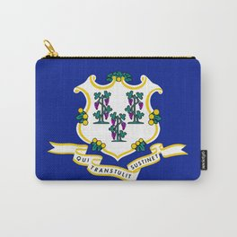 State Flag of Connecticut Carry-All Pouch