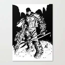 Biagini Francesco for Mad Max Fury Draw Canvas Print