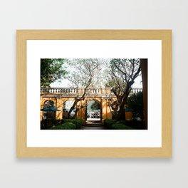 April dream Framed Art Print