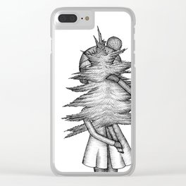 Christmas time...again? Illustration Clear iPhone Case