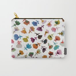 petits fleurs 2 Carry-All Pouch