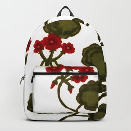 Geraniums Backpack