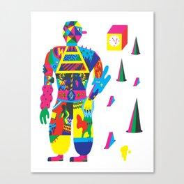 The Raver Canvas Print