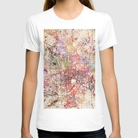 minneapolis T-shirts featuring Minneapolis by MapMapMaps.Watercolors
