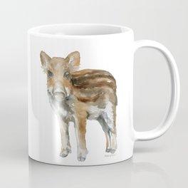 Baby Wild Boar watercolor Coffee Mug