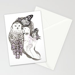 NightOwl Stationery Cards