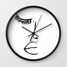 Piece of Me  Wall Clock