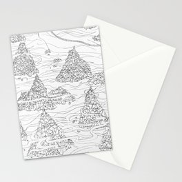 Overwhelmbergs Frame Stationery Cards