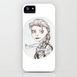 Riot Queen iPhone Case