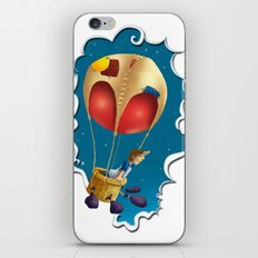 Ballon of dreams iPhone Skin