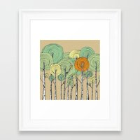 fall Framed Art Prints featuring Fall by Chris Gregori