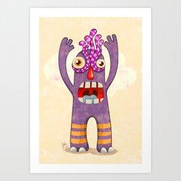 Monster-04 Art Print