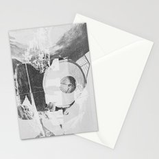 When B, grey Stationery Cards