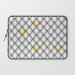 Fish Scale Pattern Design Laptop Sleeve