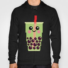 Happy Pixel Bubble Tea Hoody