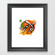 Capoeira 752 Framed Art Print