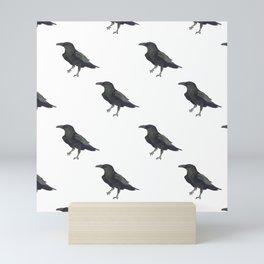 Raven Pattern Mini Art Print