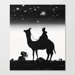 Camel Canvas Print