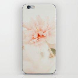 Burnt Orange Peony iPhone Skin
