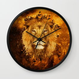 Cool Lion Wall Clock