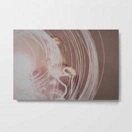 Loose Lines III Metal Print