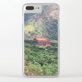 Passage To Tian Tan Clear iPhone Case