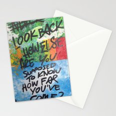 LOOK BACK Stationery Cards