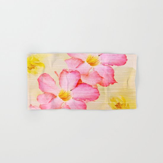 Desert Rose and Orchids  Hand & Bath Towel