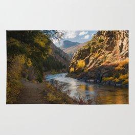 A View Along Colorado's Gunnison River Rug