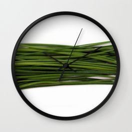 Chives Wall Clock