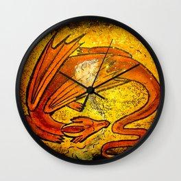 Sleeping dragon... Wall Clock