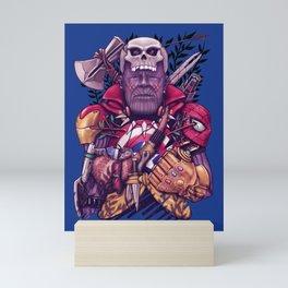 Wild Thanos Mini Art Print