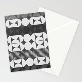 Minimal monochrome Stationery Cards