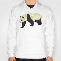panda Hoodies featuring Panda by Ben Geiger