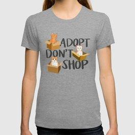 Adopt Cat T-shirt